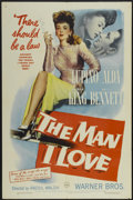 """Movie Posters:Crime, The Man I Love (Warner Brothers, 1947). One Sheet (27"""" X 41"""").Crime...."""