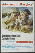 "Movie Posters:Adventure, The Man Who Would Be King (Columbia, 1975). One Sheet (27"" X 41"").Adventure...."