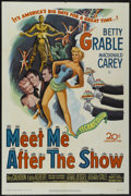 "Movie Posters:Comedy, Meet Me After the Show (20th Century Fox, 1951). One Sheet (27"" X 41""). Comedy...."