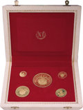 Colombia, Colombia: Republic 5 Piece gold Proof Set 1968,... (Total: 5 coins)