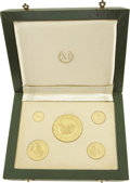 Colombia, Colombia: Republic 5-coin 6th Pan-American Games gold set 1971,...(Total: 5 coins)