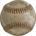 Autographs:Baseballs, 1946 Brooklyn Dodgers Team Signed Baseball. The 1946 edition of theBrooklyn Dodgers, managed by Leo Durocher, finished seco...