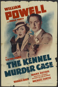 "Movie Posters:Mystery, The Kennel Murder Case (Warner Brothers, R-1943). One Sheet (27"" X41""). Mystery...."