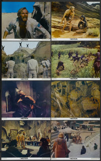 "Planet of the Apes (20th Century Fox, 1968). Lobby Card Set of 8 (11"" X 14""). Science Fiction.... (Total: 8 It..."