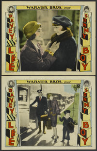 """Sonny Boy (Warner Brothers, 1929). Lobby Cards (2) (11"""" X 14""""). Comedy.... (Total: 2 Items)"""