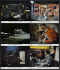 "Movie Posters:Science Fiction, Destination Moonbase-Alpha (ITC, 1976). British Lobby Cards (6)(11"" X 14""). Science Fiction.... (Total: 6 Items)"