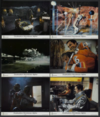 "Destination Moonbase-Alpha (ITC, 1976). British Lobby Cards (6) (11"" X 14""). Science Fiction.... (Total: 6 Ite..."