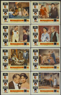 """Movie Posters:Romance, Love In The Afternoon (Allied Artists, 1957). Lobby Card Set of 8 (11"""" X 14""""). Romance.... (Total: 8 Items)"""