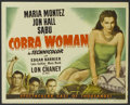 "Movie Posters:Adventure, Cobra Woman (Universal, 1944). Title Lobby Card (11"" X 14"").Adventure.. ..."