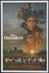 "The Outsiders (Warner Brothers, 1982). One Sheets (2) (27"" X 41""). Crime.... (Total: 2 Items)"