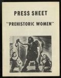 Movie Posters:Adventure, Prehistoric Women Lot (Eagle Lion, 1950). Press Sheets (3)(Multiple Pages) and Heralds (2) (Various Sizes). Adventure....(Total: 5 Items)