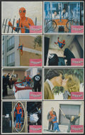 """Movie Posters:Action, The Amazing Spider-Man (Columbia, 1977). Lobby Card Set of 8 (11"""" X 14""""). Action.... (Total: 8 Items)"""