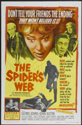 """Movie Posters:Mystery, The Spider's Web (United Artists, 1961). One Sheet (27"""" X 41"""").Mystery...."""