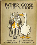 Books:Children's Books, L. Frank Baum. Father Goose. His Book. Pictures by Wm. W.Denslow. Chicago: Geo. M. Hill Co., [1899]....