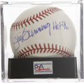 "Autographs:Baseballs, Jim Bunning ""HOF 96"" Single Signed Baseball, PSA Mint+ 9.5. With acareer path that took him from Hall of Fame pitcher to U...."