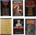 Books:First Editions, [Stephen King]. Six Anthologies in Which King Stories Appear,including:... (Total: 6 Items)