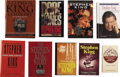Books:First Editions, [Stephen King]. Nine Books About Stephen King, including:...(Total: 9 Items)