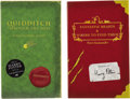 Autographs:Authors, J.K. Rowling Two Books Signed... (Total: 2 Items)