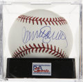 Autographs:Baseballs, Ryne Sandberg Single Signed Baseball, PSA Gem Mint 10. The secondbase superstar Ryne Sandberg provides a Gem Mint sig to th...