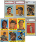 Baseball Cards:Sets, 1958 Topps Baseball Complete Set (494) . Offered is a complete 1958 Topps baseball set of 494 cards in solid middle grade. A...
