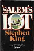 Books:First Editions, Stephen King. 'Salem's Lot. Garden City, New York: Doubleday& Company, Inc., 1975....