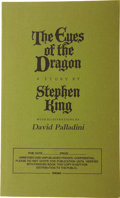 Books:First Editions, Stephen King. The Eyes of the Dragon. New York: The VikingPress, [1987]....