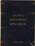 Books:Signed Editions, George Gershwin. George Gershwin's Song-Book. New York:Random House, 1932....