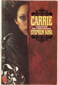 Books:First Editions, Stephen King. Carrie. Garden City, New York: Doubleday &Company, Inc., 1974....