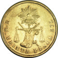 Mexico, Mexico: Republic gold 20 Pesos 1872Mo-M,...