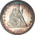 Proof Seated Quarters, 1875 25C PR65 Deep Cameo PCGS....