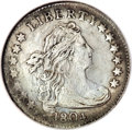 Early Dimes, 1804 10C 14 Stars on Reverse--Repaired, Whizzed--NCS. XFDetails....