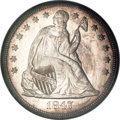 Seated Dollars, 1847 $1 MS64 NGC....