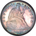 Seated Dollars, 1857 $1 MS63 NGC....