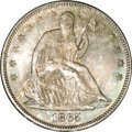 Seated Half Dollars, 1865 50C MS66 NGC....