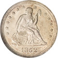 Seated Quarters, 1852 25C MS63 NGC....