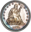Proof Seated Quarters, 1876 25C PR66 NGC....