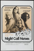 "Movie Posters:Sexploitation, Night Call Nurses (New World, 1972). One Sheet (27"" X 41"").Sexploitation...."