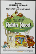 "Movie Posters:Animated, Robin Hood (Buena Vista, 1973). One Sheet (27"" X 41"") and Pressbook(11"" X 15""). Animated.... (Total: 2 Items)"