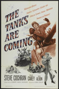 "Movie Posters:War, The Tanks are Coming (Warner Brothers, 1951). One Sheet (27"" X41""). War...."