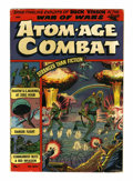 Golden Age (1938-1955):War, Atom-Age Combat #1 (St. John, 1952) Condition: VG-....