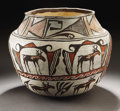 American Indian Art:Pottery, A ZUNI POLYCHROME JAR. c. 1890 ...