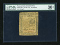 Colonial Notes:Pennsylvania, Pennsylvania July 20, 1775 40s PMG Very Fine 30 EPQ....