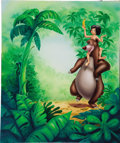 Mainstream Illustration, AMERICAN ILLUSTRATOR (20th Century). Walt Disney's The JungleBook. Mixed-media on board. 22 x 19 in.. Not signed. ...