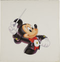 Mainstream Illustration, AMERICAN ILLUSTRATOR (20th Century). Mickey Mouse,Conductor. Acrylic on board. 14 x 13.5 in.. Not signed. ...