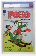 Golden Age (1938-1955):Funny Animal, Pogo Possum #15 (Dell, 1954) CGC NM- 9.2 Cream to off-whitepages....