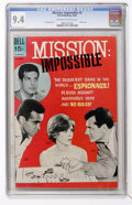 Silver Age (1956-1969):Adventure, Mission: Impossible #5 (Dell, 1969) CGC NM 9.4 Off-white to white pages....
