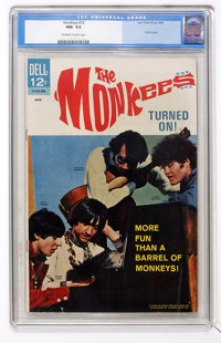 The Monkees #12 (Dell, 1968) CGC NM- 9.2 Off-white to white pages