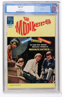 The Monkees #8 (Dell, 1968) CGC NM- 9.2 Off-white pages