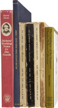 Books:First Editions, [Charles Dickens.] Lot of Eight Dickens-Related Works,... (Total: 8Items)