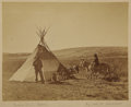 "Military & Patriotic:Indian Wars, William H. Jackson Image of Trapper and Guide ""Beaver Dick"" Leigh ca 1880s...."